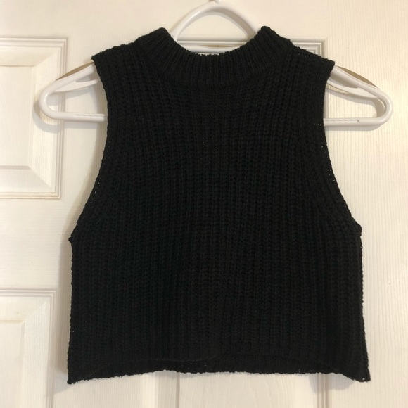 Oak and Fort Knit Crop Top